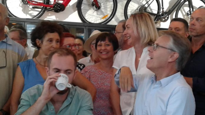 Eric Alauzet candidat à la mairie de Besançon
