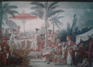 """Exposition """"la Chine rêvée de François Boucher"""""""