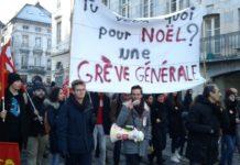 Manifestation 5 décembre Besançon