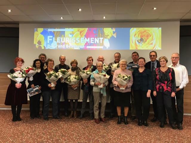 Fleurissement de Besançon les lauréats