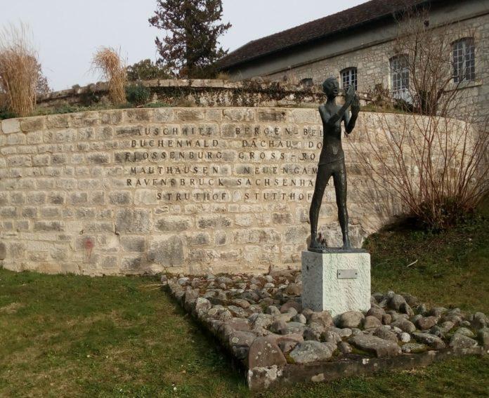 Sculpture de Georges Oudot à la Citadelle