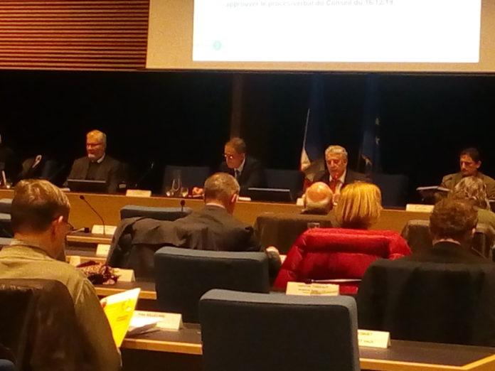 Conseil communautaire de GBM
