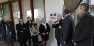"Inauguration maison ""France Services"" Planoise"