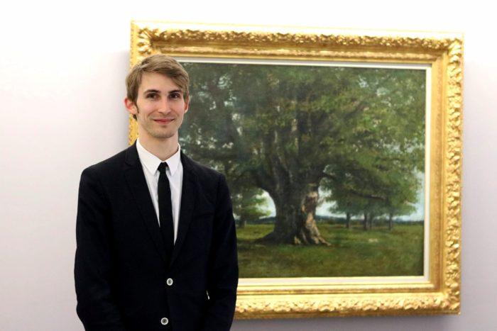 Benjamin Foudral, conservateur du musée Courbet