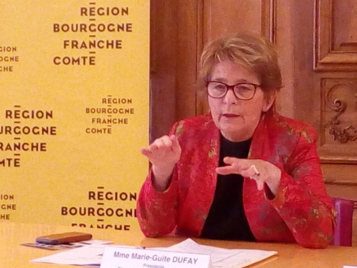 Marie-Guite Dufay présidente de la région BFC