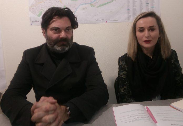 Randall Schwerdorffer et Alexandra Cordier