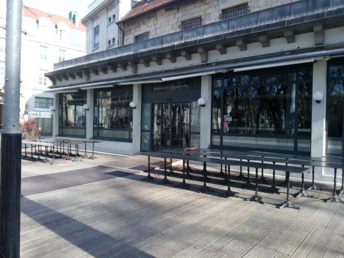 Brasserie Granvelle fermée